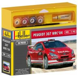 Heller - 50115 - Maquette - Peugeot 307 WRC04 - Echelle 1:43
