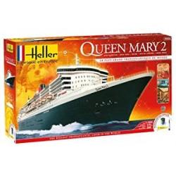 Heller - 52902 - Maquette - Bateaux - Queen Mary 2 - Echelle 1/600