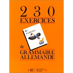 230 exercices de grammaire allemande