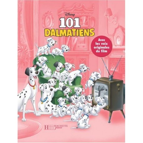 101 DALMATIENS LIVRE-CD
