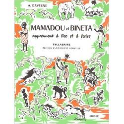 Mamadou et Bineta nouv syllabaire noir CP1