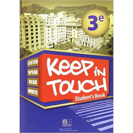 KEEP IN TOUCH 3EME ELEVE STUDENTS BOOK