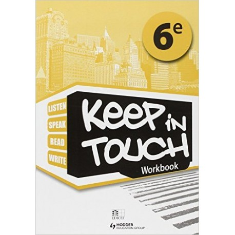 KEEP IN TOUCH 6EME LIVRET