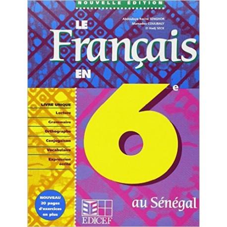 LE FRANCAIS EN 6e LIVRE