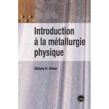 INTRO METALLURGIE PHYSIQUE