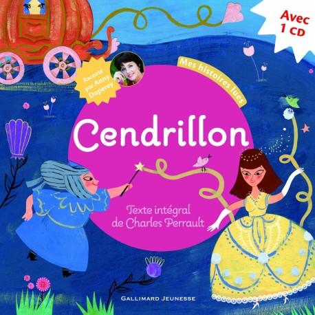 CENDRILLON + CD MES HISTOIRES LUES