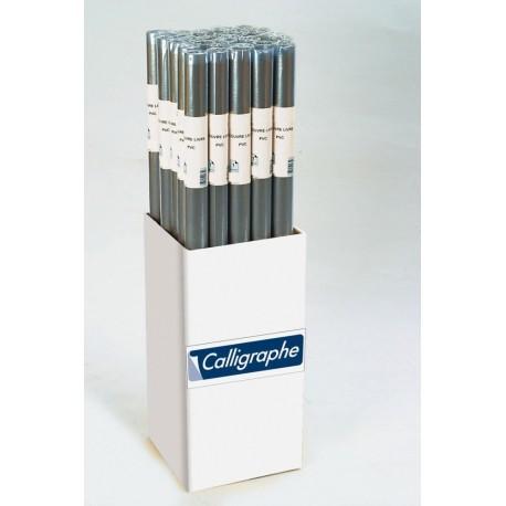ROULEAU COUVRE LIVRE CRISTAL PVC CALLIGRAPHE