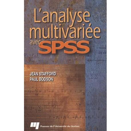 Analyste multivariée spss