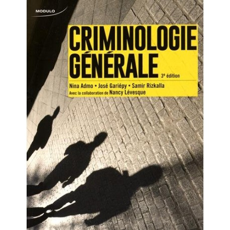 Criminologie générale