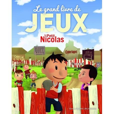 Le Petit Nicolas : Le grand livre de jeux