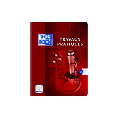 Cahier travaux Pratiques 96 pages Aridim