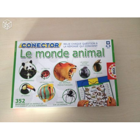 LE MONDE ANIMAL/ CONNECTOR 6-8 ANS
