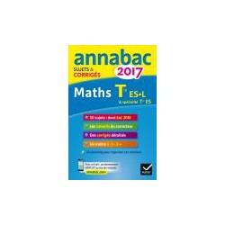 Annales Annabac 2017 Maths Term ES, L