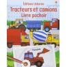 Tracteurs et camions : Livre pochoir