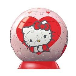 Ravensburger - 9509 - Puzzle Ball - Enfant - Hello Kitty 4 Motifs - 60 Pièces
