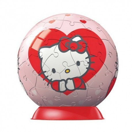 HELLO KITTY PUZZLES 60 PIECES + 4 ANS