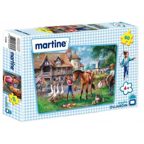 MARTINE PUZZLES 60 PIECES + 4 ANS