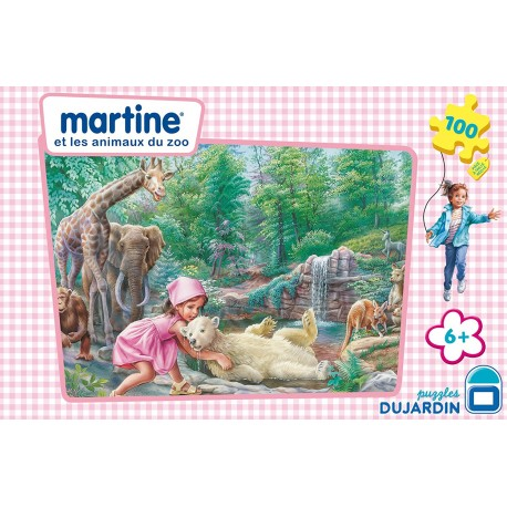 MARTINE PUZZLES 100 PIECES + 6 ANS