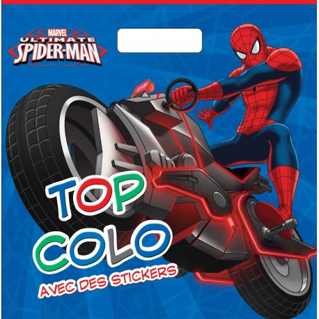 Ultimate Spider-Man : Avec des stickers