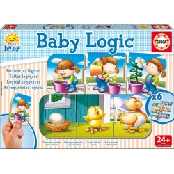 Educa - 15860 - Jeu Educatif - Baby Logic