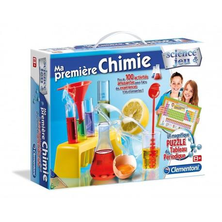 MA PREMIERE BOITE DE CHIMIE