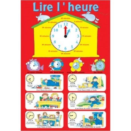 P* posters / lire l'heure