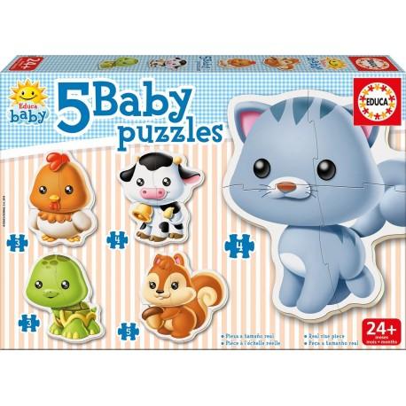 5 BABY PUZZLE/ LA FERME