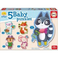 Educa - 16816 - Baby Puzzle Petits Animaux