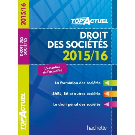 Top actuel droit des sociétés 2015/16