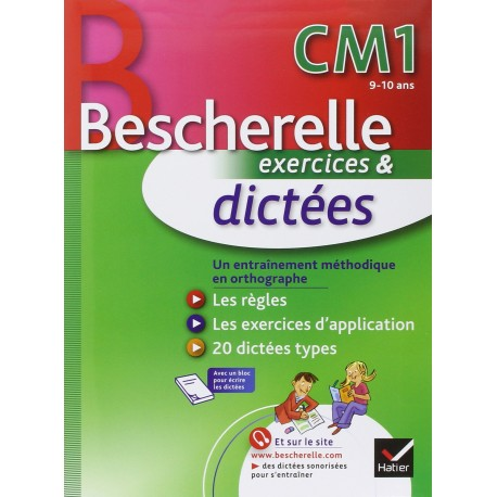 Bescherelle cm1 dictées exercices