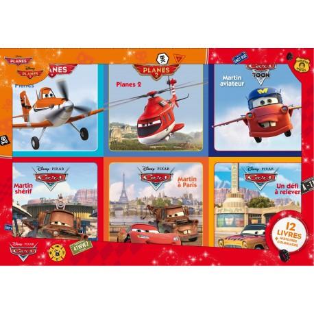 Cars & Planes : 12 livres histoires + coloriages
