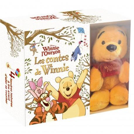Les contes de Winnie : Avec une peluche de l'ourson Winni