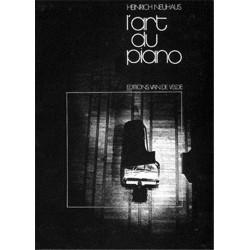 L'Art du piano Editions Van De Velde