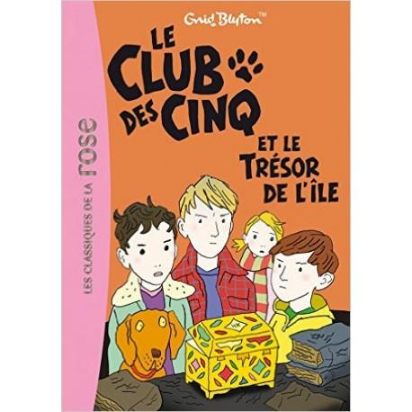 LE CLUB DES CINQ 1 ET LE TRESOR DE LILE