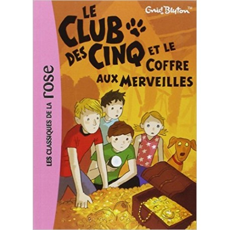 LE CLUB DES CINQ ET LE COFFRE AUX MERVEILLES 18
