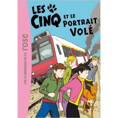 LES CINQ ET LE PORTRAIT VOLE 34