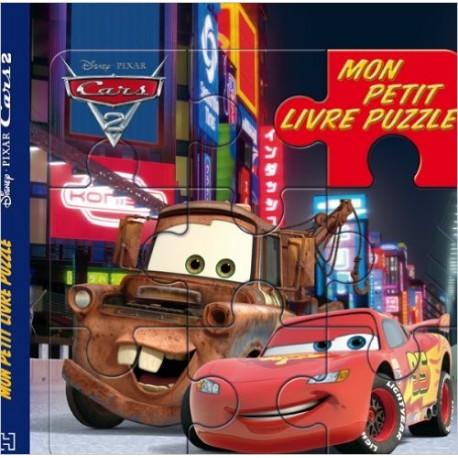 MON PETIT LIVRE PUZZLE CARS 2