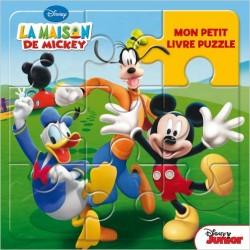 La maison de Mickey livre puzzle