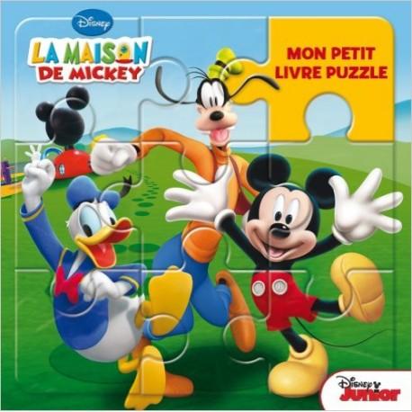 MON PETIT LIVRE PUZZLE MAISON DE MICKEY