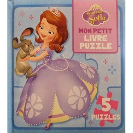MON PETIT LIVRE PUZZLE PRINCESSE SOFIA