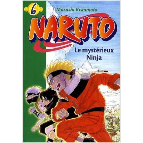 NARUTO 6 LE MYSTERIEUX NINJA BIBLIO VERTE