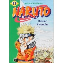 Naruto - Roman Vol.11: Retour à Konoha