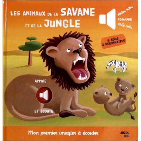 LES ANIMAUX DE LA SAVANE ET DE LA JUNGLE MON 1er IMAGIER