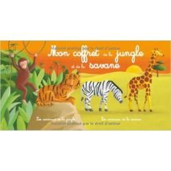 MON COFFRET DES ANIMAUX DE LA JUNGLE ET DE LA SAVANE