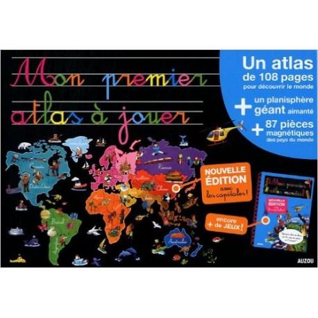 MON PREMIER ATLAS A JOUER 87 PIECES