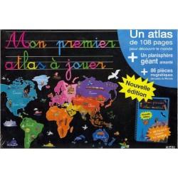 MON PREMIER ATLAS DU MONDE A JOUER - nouvelle édition