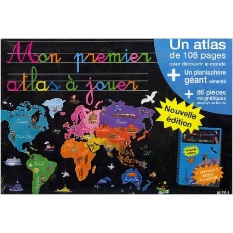 MON PREMIER ATLAS A JOUER 86 PIECES
