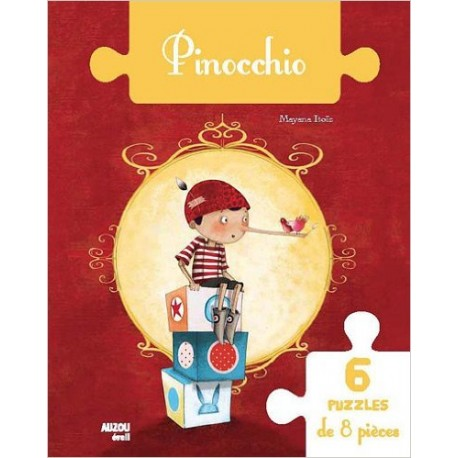 PINOCCHIO 6 PUZZLES 8PCS