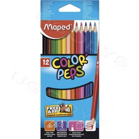 Crayon couleur MAPED
