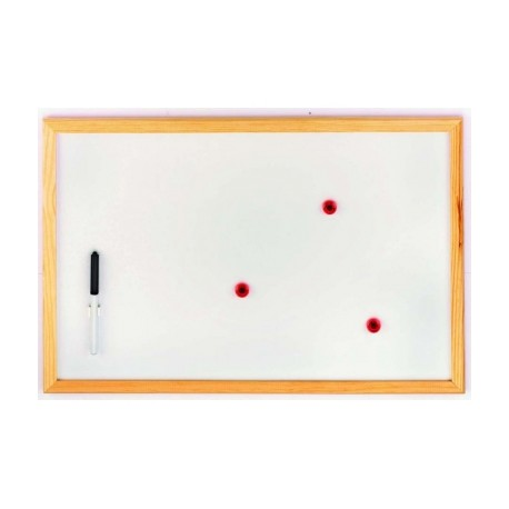 TABLEAU MAGNETIQUE BLANC AIMANTS
